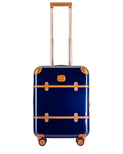Bric's Bellagio 2.0 Ultra Light 21 Inch International Carry On Luggage (One Size, Blue Shiny)