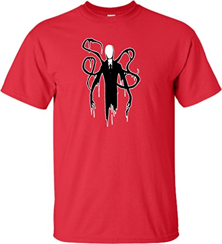 Go All Out YS 6-8 Red Youth Slender Man T-Shirt -
