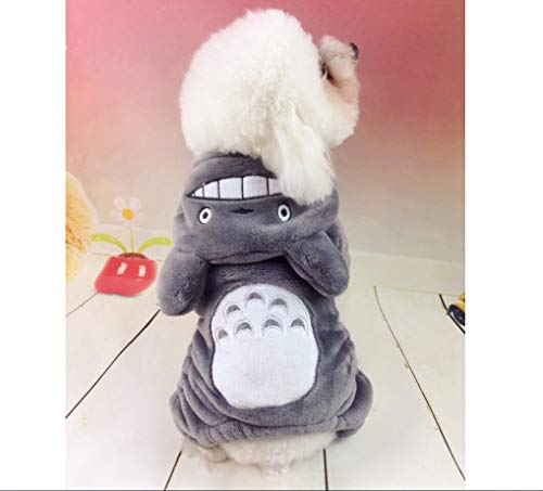 (Do4Pets Pets Costumes Dressing up Your Dogs and Cats, Halloween Outfit, Party Apparel, Christmas Suit, Special Events Coat,Funny Pets Clothes (5 Totoro, Medium (for 11LB-17LB)