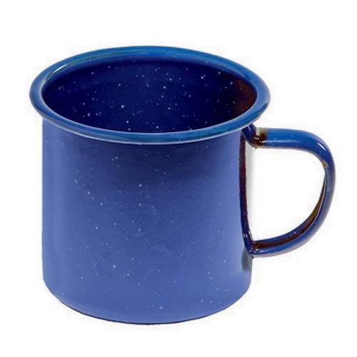 Enamel Camping Tableware (Texsport Enamel Mug, 12 Ounce)