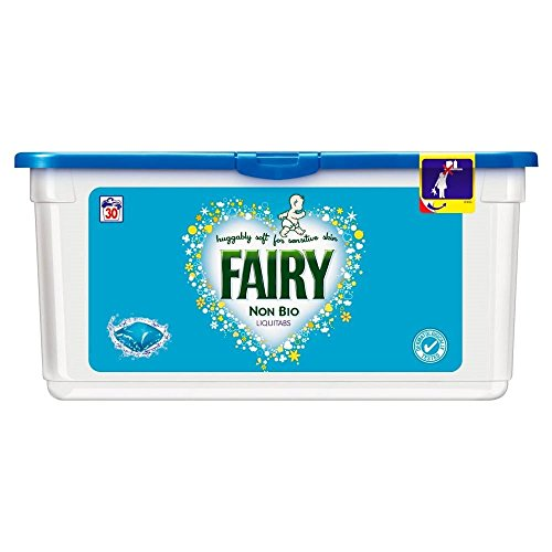 Fairy Non Biological Liquitabs - 30 Washes - Range The Shop Uk