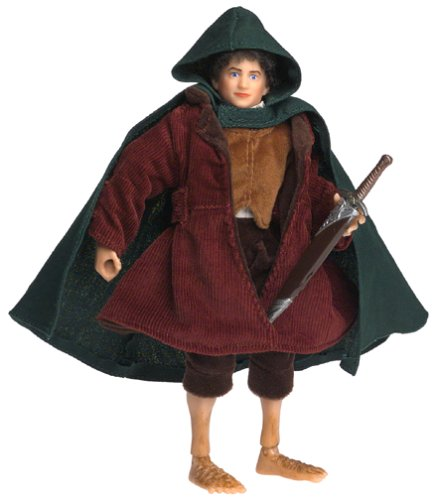 Lord of the Rings Fellowship of the Ring Deluxe Action Figure Frodo Frodo Baggins Lord Of The Rings
