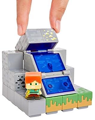 Minecraft Mini Figure Waterfall Wonder Environment Set from Mattel