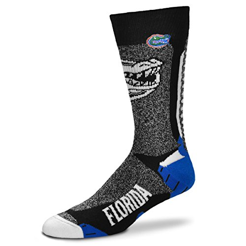 For Bare Feet NCAA-Downtown Socks-Florida Gators, Large