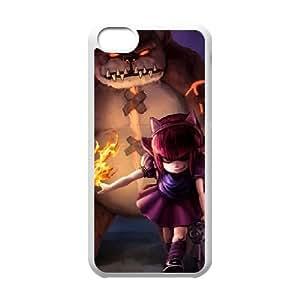 5c caso League Of Legends Annie funda iPhone N0P65R4VL Funda blanca 250775
