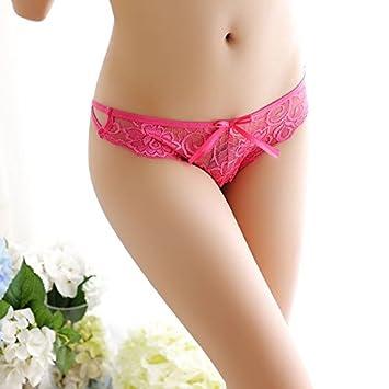 LybCvad Ropa Interior Sexy ❤ Ropa Interior de Mujer Delgada con Cintura Baja de Encaje Sexy