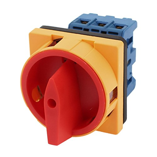 N/OFF 3Phase Rotary Cam Changeover Switch Ui 660V Ith 25A ()