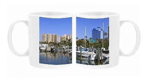 Photo Mug of Bayfront Marina, Sarasota, Florida, United States of America, North America by Robert Harding by Robert Harding