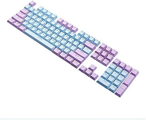 Tamkyo Teclado de la Computadora Keycap Group 104 Teclas Modo ...