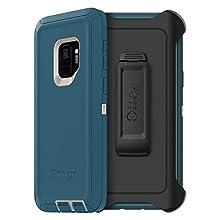 OtterBox DEFENDER SERIES Case for Samsung Galaxy S9 - Retail Packaging - BIG SUR (PALE BEIGE/CORSAIR)