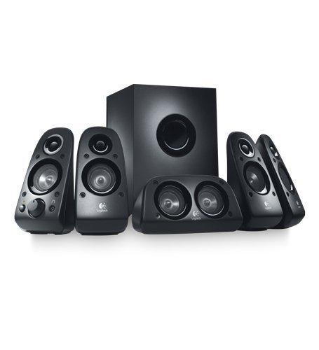 Logitech Z-506 - Speaker system - For PC - 5.1-channel - 75 Watt (total)