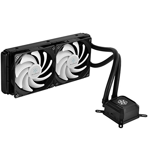 SilverStone Tek Entry 240mm AIO Liquid CPU Cooler with Intel/AMD Including AM4 Support TD02-LITE-V2