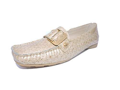 Stuart Weitzman Womens DDMOC Birch Pitone Embossed Snake Loafers Flats Shoes Size 11 M ZUDuZxUw