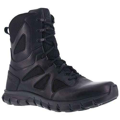 Reebok Women's Sublite Cushion RB806 Military and Tactical Boot, Black, 8 W US by Reebok