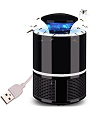 USB Electronic Mosquito Trap Lamp Fly Repellent UV Radiation Photocatalyst Insect Killer