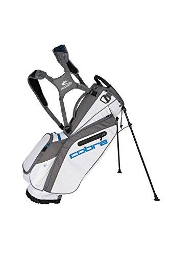 Electric Golf Bag - Cobra Golf 2018 Ultralight Stand Bag (White-Electric Blue)