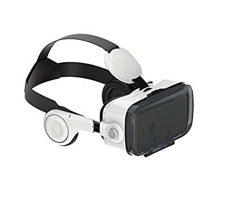 Magicoo 3D VR Box, Video Glasses Support iphone Samsung LG and Other Smart Phones with Headphone for Immersive Movies and...