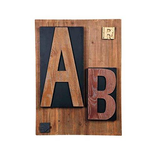 東洋石創 壁飾り Type Board 31031 B01FYS041M 約60×8×80cm|型番 : 31031 約60×8×80cm
