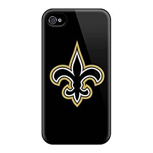 For Iphone Cases, High Quality New Orleans Saints 3 Case Cover For Ipod Touch 4 Covers Cases