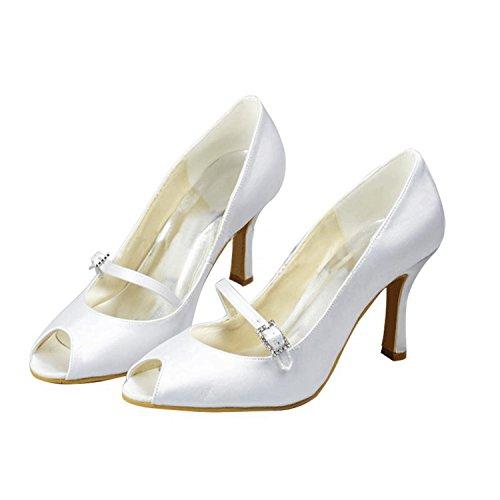 Minitoo , Damen Tanzschuhe Ivory-9.5cm Heel