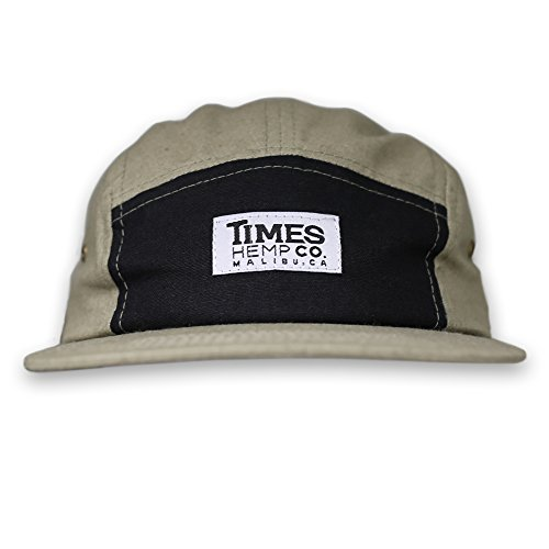 Times Hemp Company 100% Hemp 5 Panel Hat