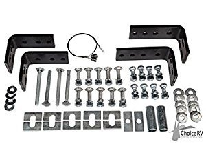 HUSKY TOWING 31622 10 Bolt Rail Install KIT ()