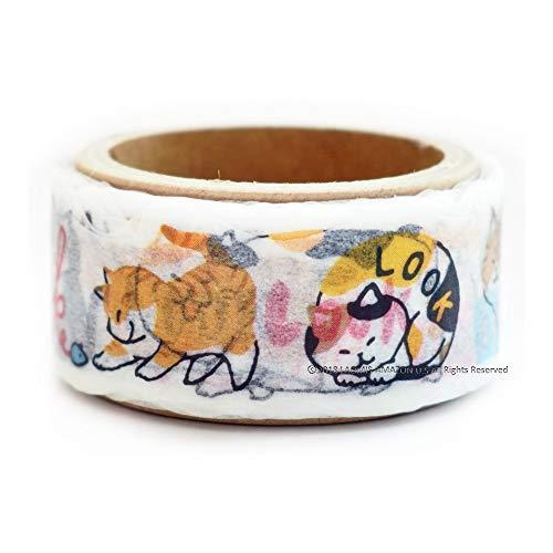 - Mind Wave Japanese Washi Masking Paper Die-Cut Tape / PLUS+ STUDY / Shiba Inu / Cats (Cats [ 93526 ])