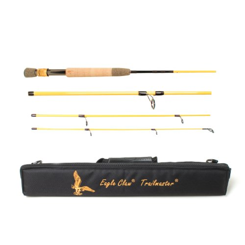 Trailmaster Spin-Fly Rod 6 Pc. 7 M (Vintage Fishing Pole)