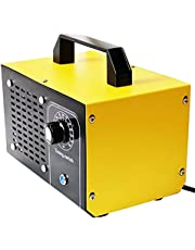 Ozongenerator Luchtreiniger, 48.000 mg/u 60.000 mg/u Industrieel Ozon Apparaat Ozondeodorant met 60 Minuten Timer, Reinigt meer dan 300㎡