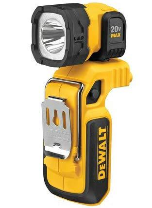 De-Walt DCL044 20-Volt Max 160-Lumen LED Handheld Spotlight Flashlight Worklight