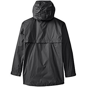 White Sierra Youth Trabagon Jacket, Black, Large