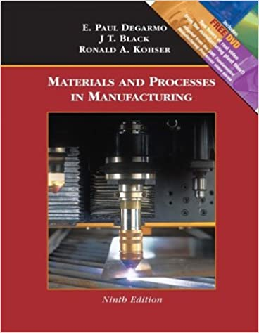 Paul degarmo materials and processes in manufacturing pdf