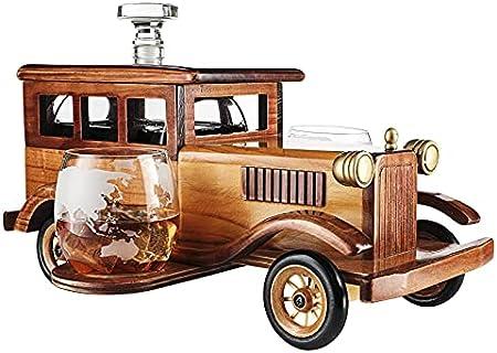 Juego de decantador de whisky y licores, perfecto para cualquier bar: este es un juego de decantador