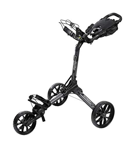 BagBoy Nitron Golf Push Cart, Graphite/Black