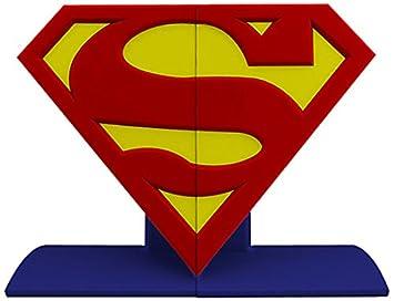 Amazon dc comics superman logo bookends statue redyellowblue dc comics superman logo bookends statue redyellowblue voltagebd Choice Image