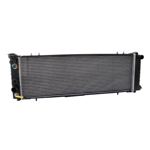 6 Radiator Fan Cyl Cooling (CarPartsDepot 4.0L 6-Cyl Cooling 1Row Radiator Auto Trans TOC Standard Duty Assembly, 409-1193 CH3010186 1193)