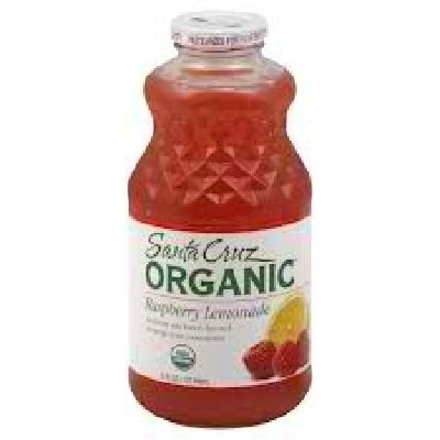Santa Cruz Organics Raspberry Lemonade 48x 32OZ by SANTA CRUZ