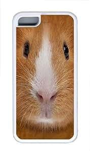 Guinea Pig Face Custom iPhone 5C Case Cover TPU White wangjiang maoyi