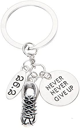 and 26.2 sign Set of 4 26.2 Wine Charms Running Lover gift Includes Love to Run GOLD BEADS. Marathon gift runner figurine sneaker