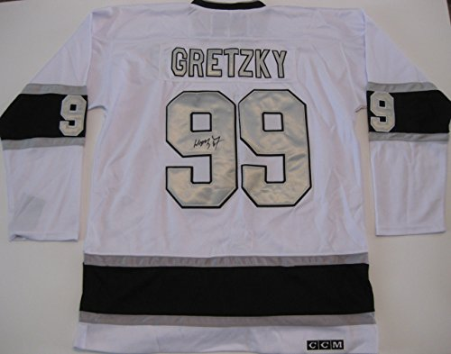 Wayne Gretzky, Los Angeles Kings, LA Kings, Signed, Autographed, Authentic Jersey, a COA with the Exact Proof Photo of Wayne Signing the Jersey Will Be Included.