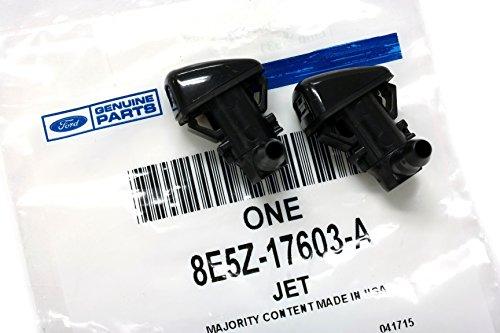 Amazon Com Ford   Fusion Milan Mkz Windshield Wiper Washer Fluid Jet Nozzle Kit Oem Set Of  Automotive