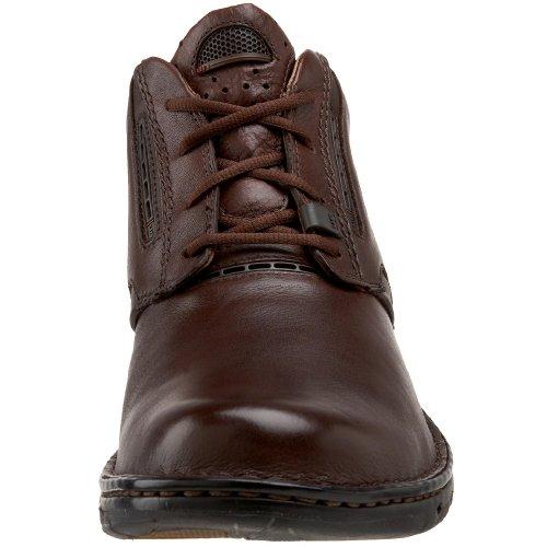 Clarks Unstructured Mens Un.furl Boot Casual Marrone