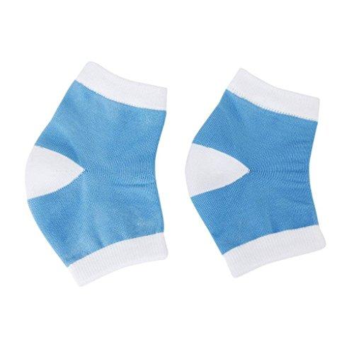 Cracked Heel Treatment - Heel Socks - Cracked Heels - Gel Socks - Moisturizing Socks - Callus Feet - 2 Pairs - Ballotte by Ballotte (Image #2)