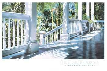 (Patrick's Porch By Alice Dalton Brown Highest Quality Art Print Poster - Size: 36 X 24)