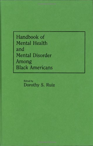 Search : Handbook of Mental Health and Mental Disorder Among Black Americans