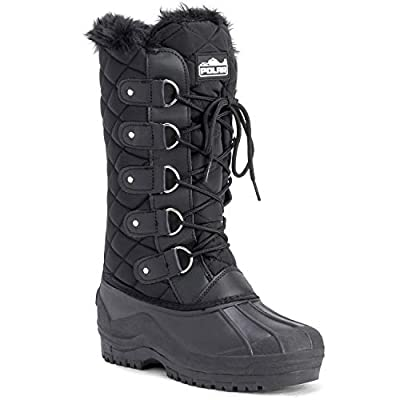 Polar Womens Waterproof Tactical Mountain Walking Snow Knee Boots | Snow Boots