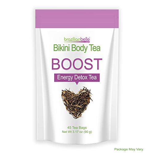 Bikini Body Boost - Best Daytime Energy & Detox Tea on Amazon - Boosts Metabolism, Cleanses, and Shrinks Love Handles