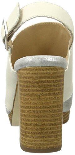 Multicolore offwhite Peperosa sasso Sandali Donna 1502 Con 1 Tacco xwY8P