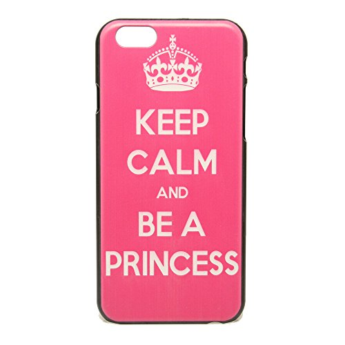 Keep Calm and be a Princess Hard Plastic Case Snap On Cover For Iphone 6 4.7 Inch