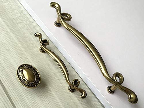 1.25/' 3.78\u201c  6.3 Polished Brass Drawer Pulls Knobs Hollow Dresser Handles Knobs  Cabinet Pulls Knobs  Handles Closet Cupboard Handles